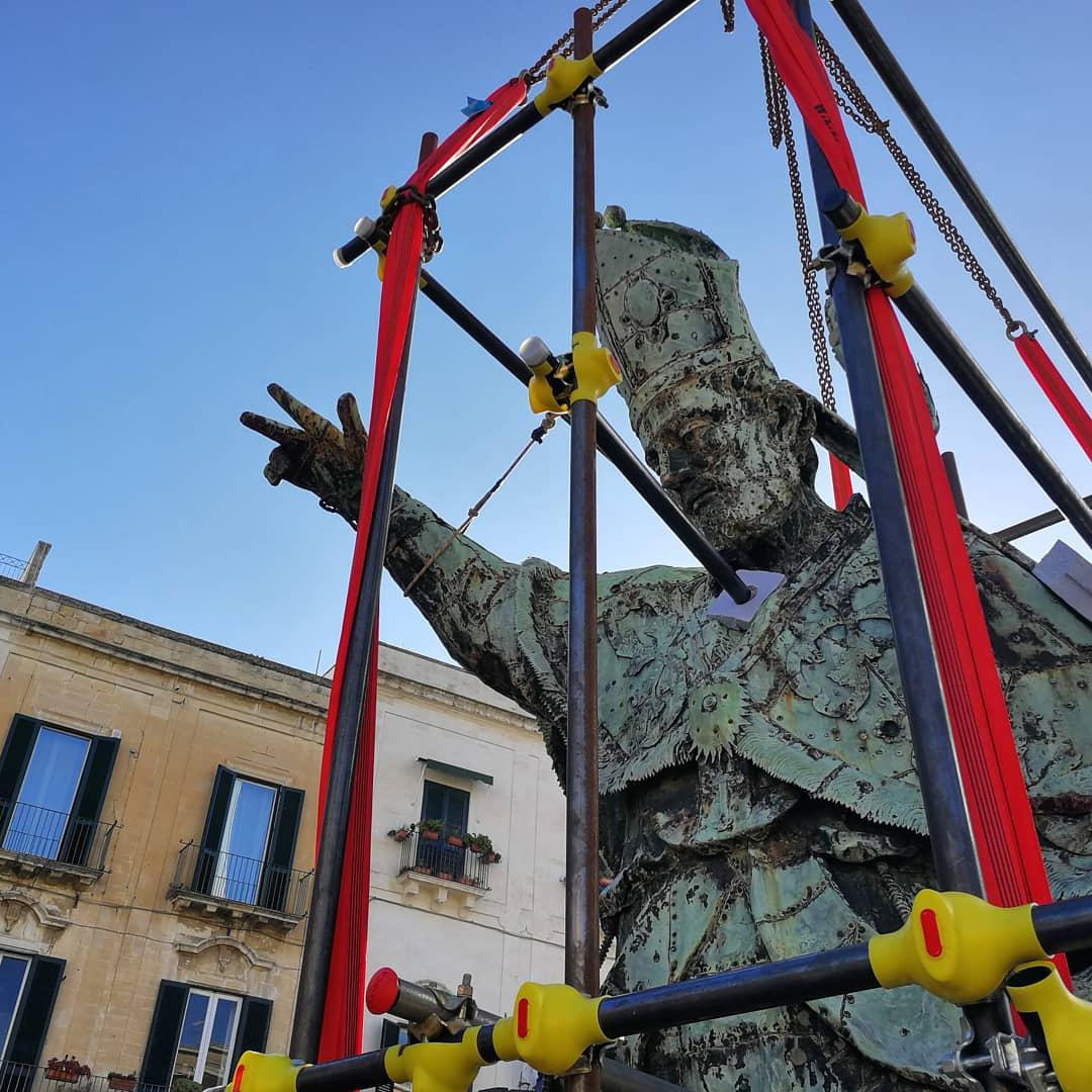 La discesa di Sant'Oronzo